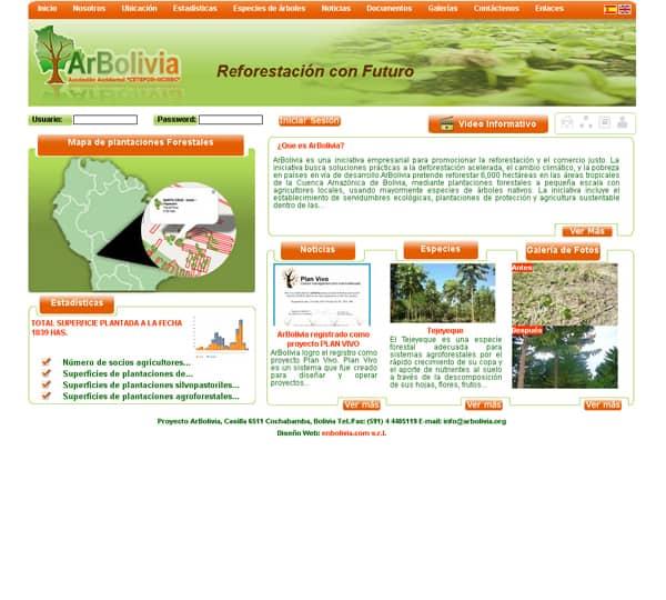 Forest Management Information System – ARBOLIVIA
