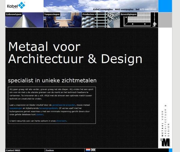 Metaal voor Architectuur & Design