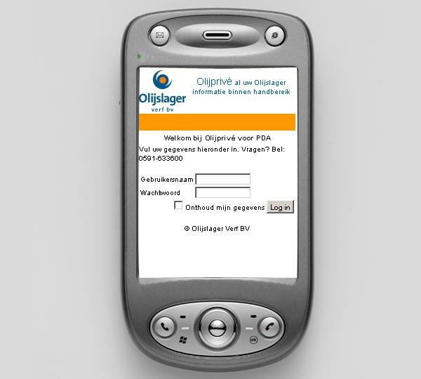 Olijslager PDA