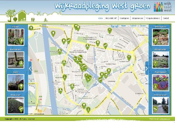 Wijkraadpleging west groen