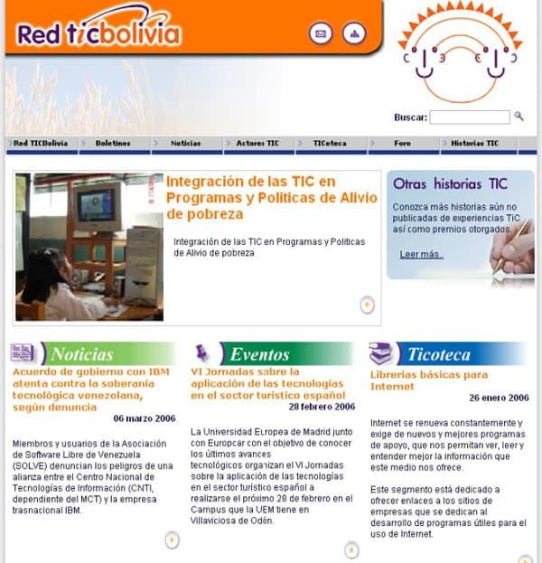 Programa Nacional Ticbolivia